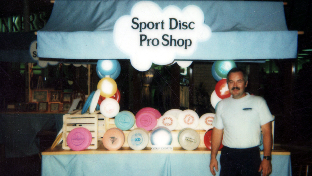 Sport Disc Pro Shop College Square Mall 1985